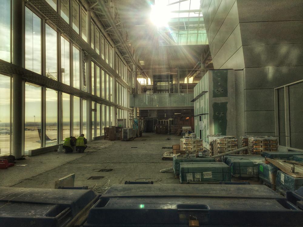 Neuer Satelliten-Terminal am Flughafen München