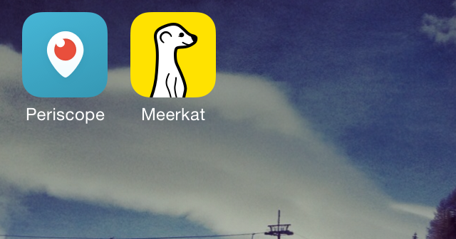 Livestreaming – die neue Sau. #periscope #meerkat